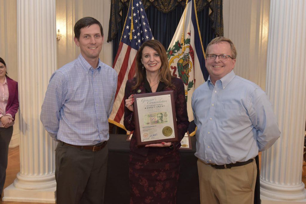 Industrial Bolting Technologies, Inc  honored by WV Governor